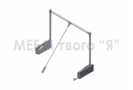 Пантограф для шкафа Starax 850-1150 серый с плавной доводкой, цвет серый - продажа в Украине | ДЕКС