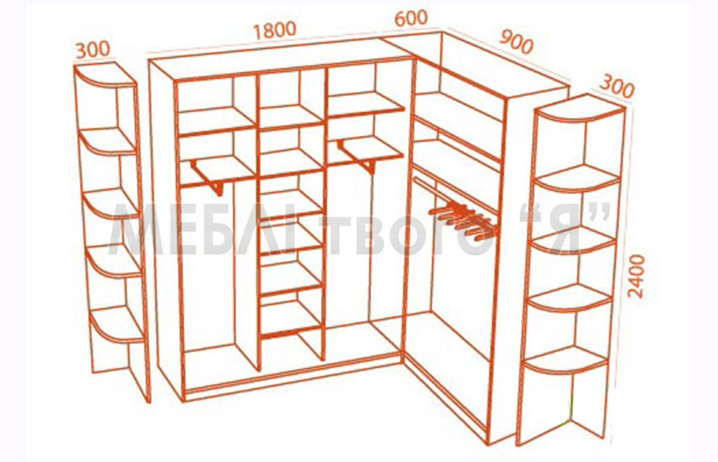 Построить угловой шкаф своими руками