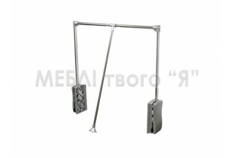 Лифт пантограф DC PNTF PD1 с доводкой 450 - 600 мм, цвет хром - купить в Киеве и Украине    ДЕКС