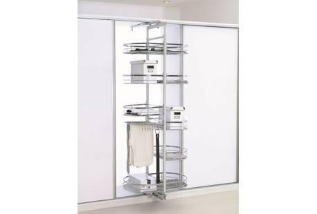 Выдвижная поворотная галерея для кухни S-6620В Starax - фурнитура для кухни | ДЕКС