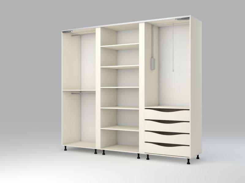 трехдверный шкаф купе