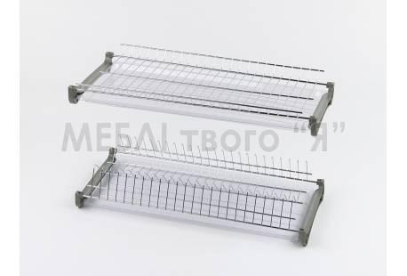 Сушилка для посуды хром аналог REJS L - 600мм Стандарт 3 б/р DC - купить в Украине | ДЕКС