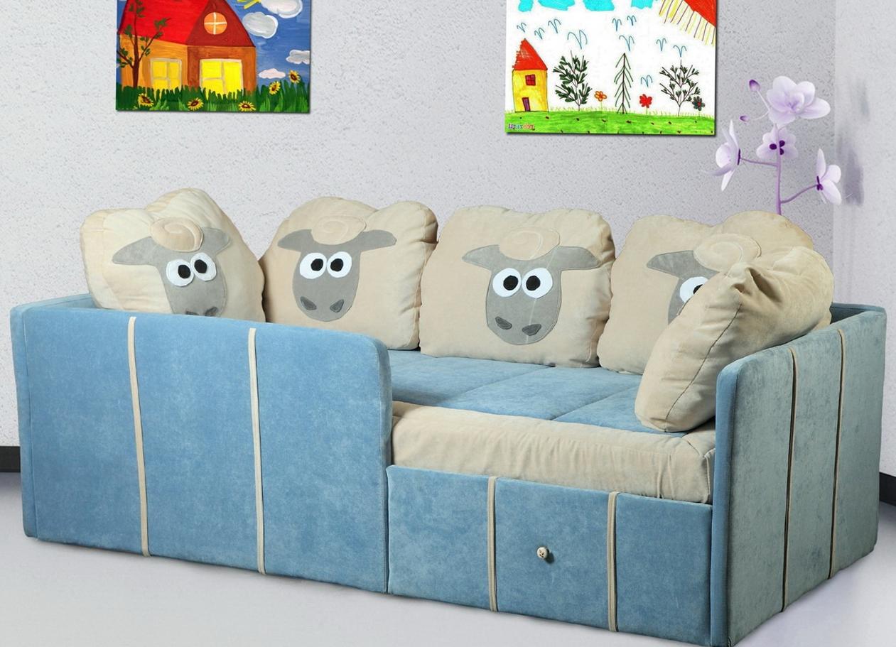 Детские диваны с бортиками
